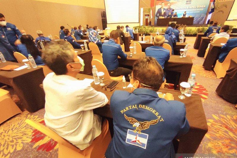 Ikut KLB, empat pengurus DPC Demokrat di Sulsel dipecat
