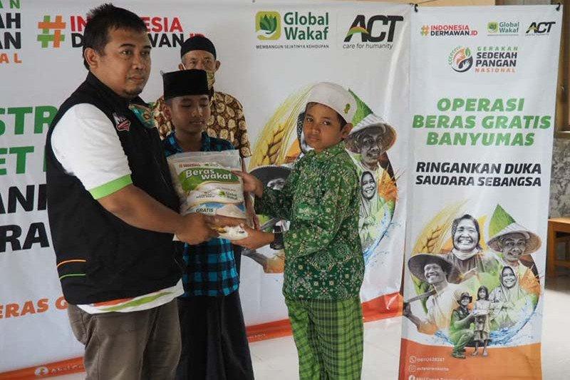 ACT Purwokerto luncurkan Gerakan Sedekah Pangan Nasional