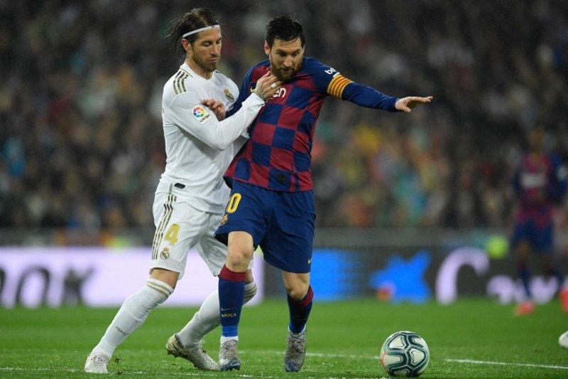 Ramos ajak Messi tinggal di rumahnya jika gabung Madrid