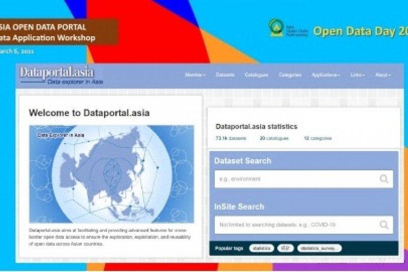 Asia luncurkan portal data terbuka resmi pertama