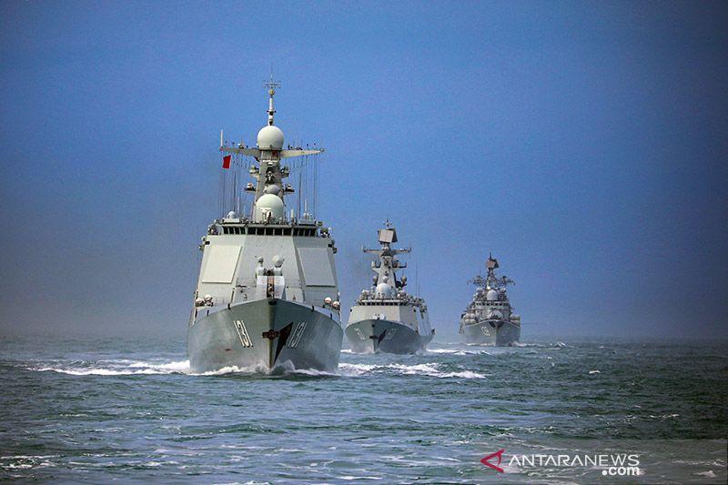 China pantau pergerakan kapal perang AS di Taiwan