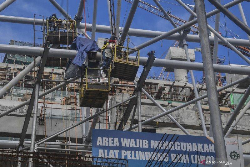 Mengenal teknologi pencahayaan dinding Jakarta International Stadium