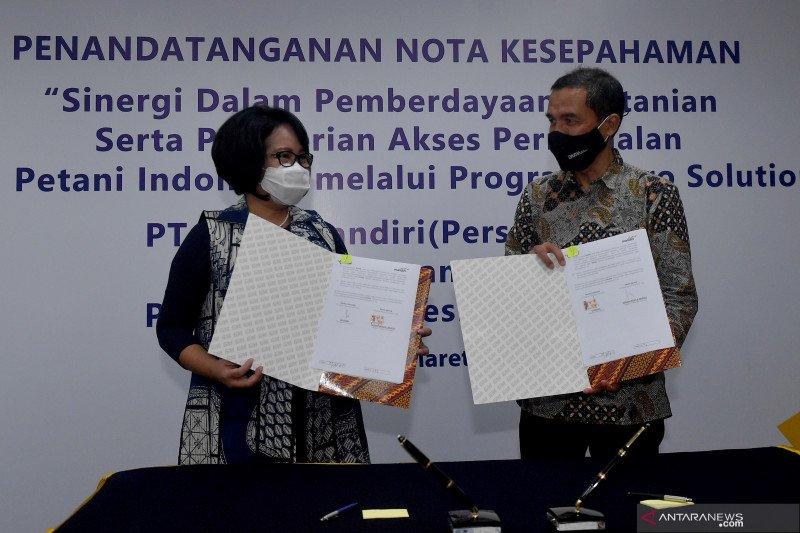 Pupuk Indonesia gaet Bank Mandiri, beri akses modal Agro Solution