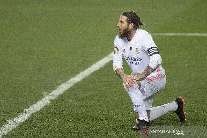 Zidane berharap Varane dan Ramos bisa perkuat Madrid lawan Chelsea