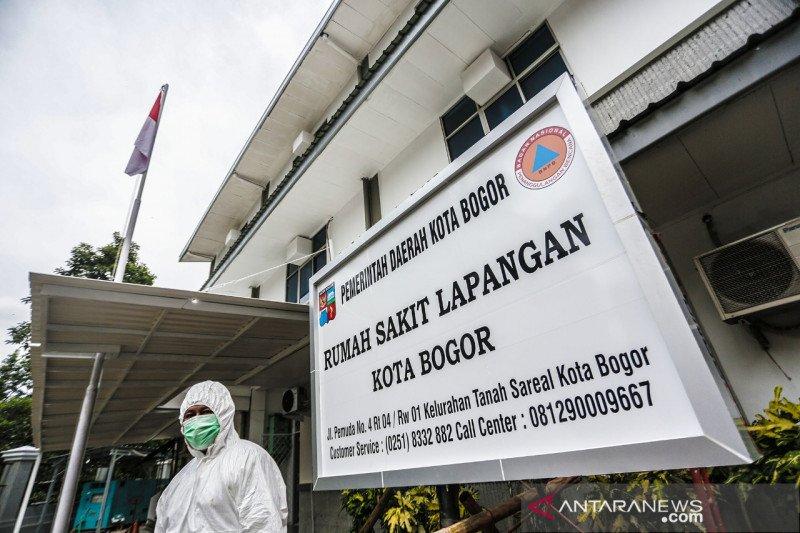 Rumah Sakit Lapangan di Kota Bogor dinonaktifkan