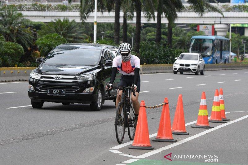 Awas! Bersepeda di luar jalur khusus didenda Rp100 ribu