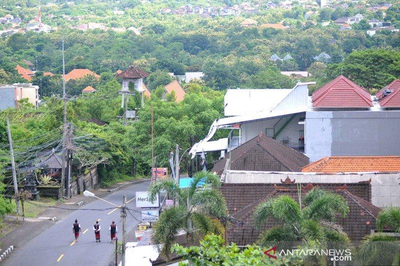 Heningnya Bali saat Hari Raya Nyepi