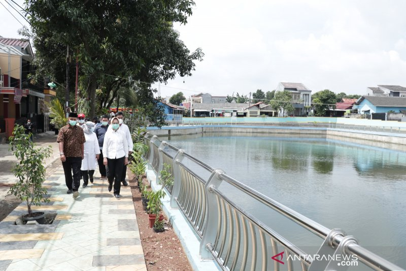 Tandon Puri Bintaro solusi mengatasi banjir