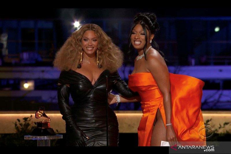 Penyanyi Megan Thee Stallion dan Beyonce sabet Grammy Awards untuk kategori