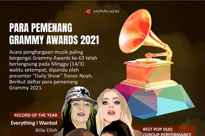 Para pemenang Grammy Awards 2021