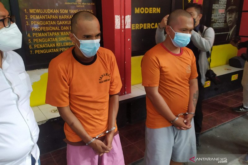 Polisi bekuk dua anggota Tim Prabu gadungan rampas motor korban