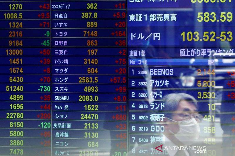 Saham di Tokyo dibuka lebih tinggi didukung kenaikan Wall Street