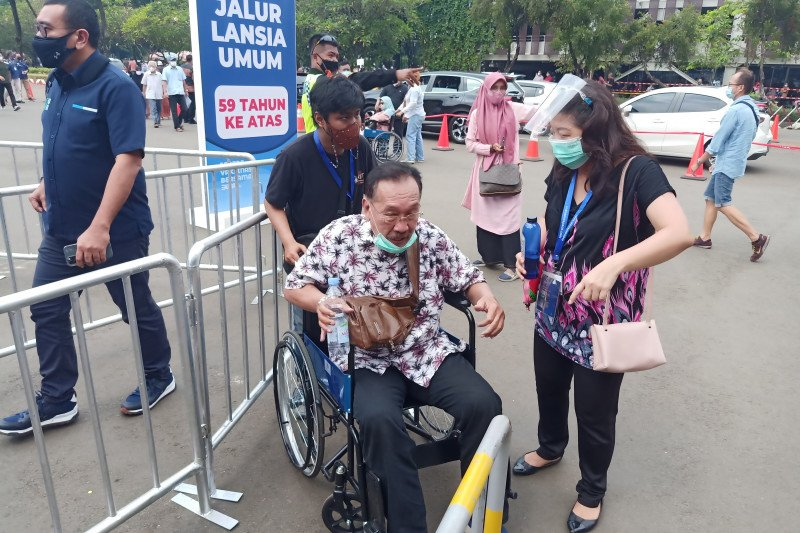 Penambahan pasien sembuh COVID-19 Jakarta Selasa (16/3) sebanyak 1.559
