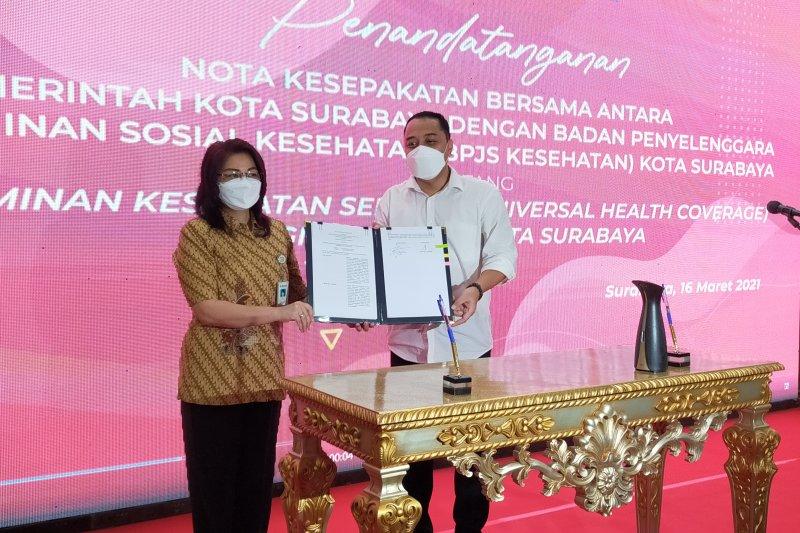 Kota Surabaya siap terapkan UHC pada April 2021