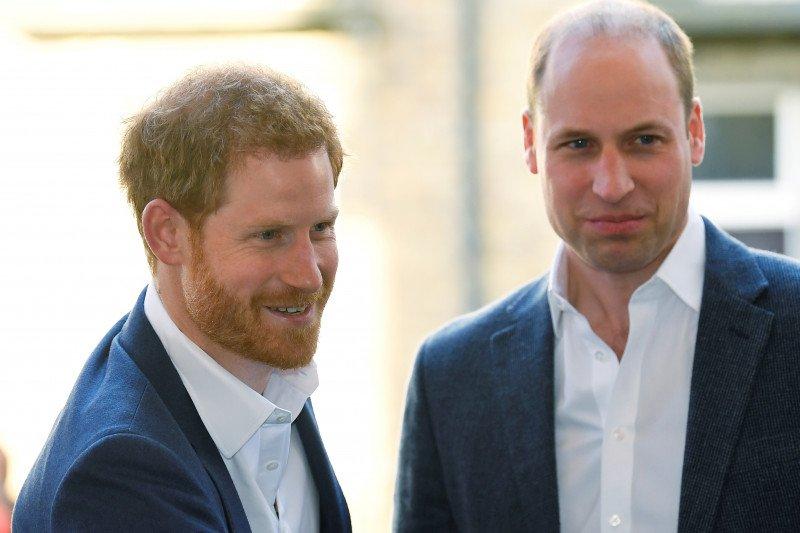 Perbincangan antara Pangeran Harry dan William