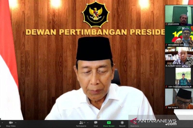 Ketua Wantimpres dukung Muktamar Ke-20 Mathla'ul Anwar