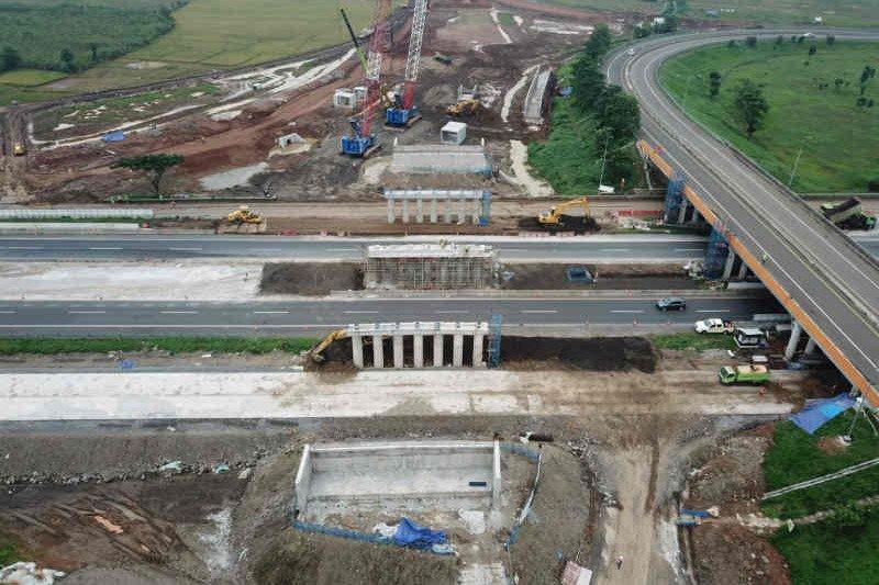 Pembangunan akses tol Bandara Kertajati capai 60 persen