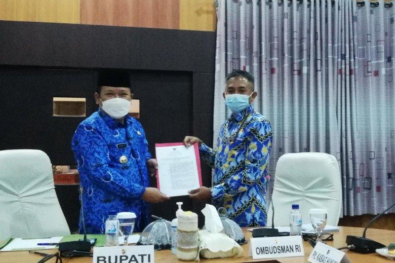 Ombudsman tagih janji perbaikan layanan perizinan ke Bupati Jember