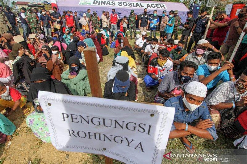 Pengungsi Rohingya di Lhokseumawe dipindahkan ke Medan