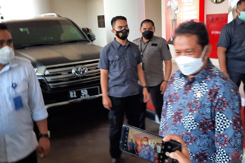 Menteri KKP temui Jaksa Agung di Kantor Kejagung