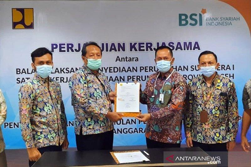Kementerian PUPR-BSI siap salurkan dana program BSPS di Aceh