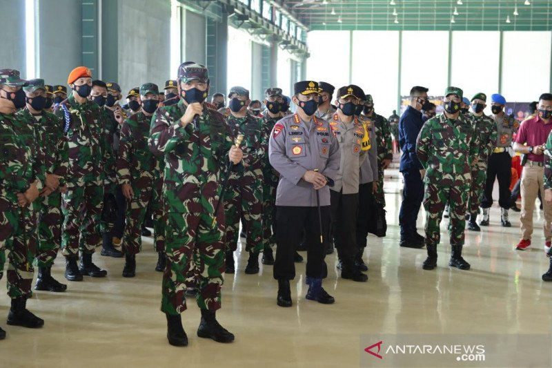 Panglima TNI tegaskan program vaksinasi COVID-19 harus didukung