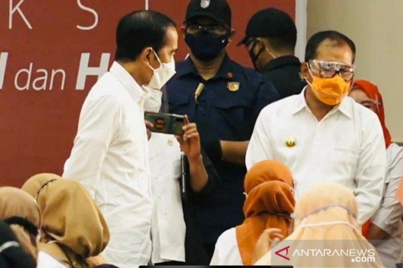 Presiden Jokowi harap usai vaksinasi massal sekolah bisa dibuka