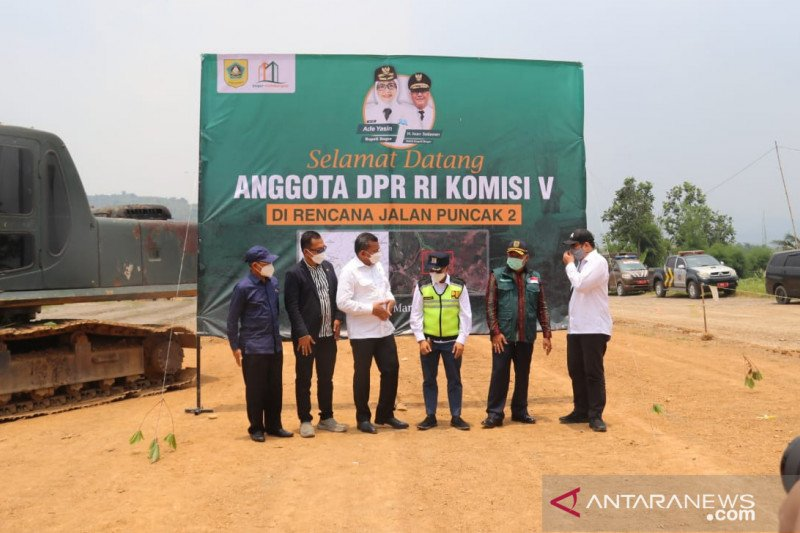 Komisi V DPR sepakat dorong pembangunan Jalur Puncak II