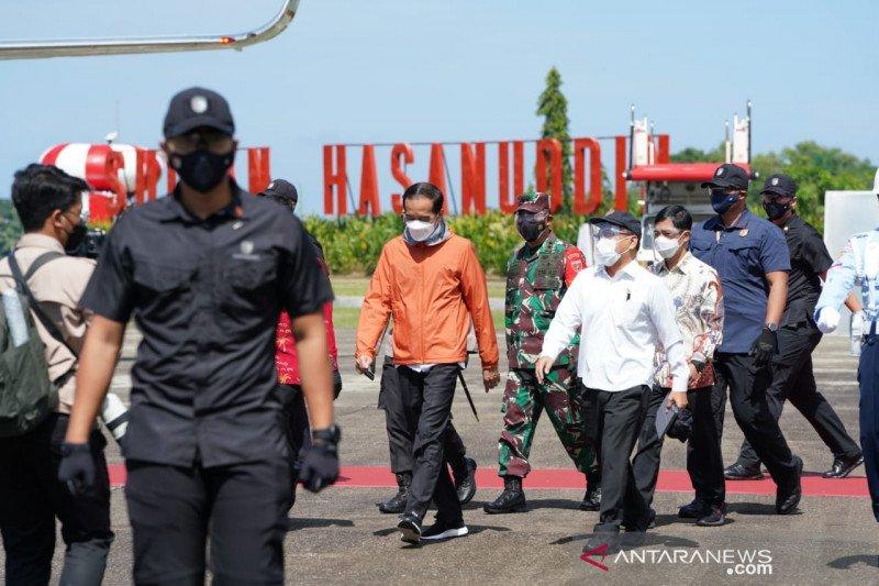 2.500 personel diturunkan amankan kunjungan Presiden Jokowi di Sulsel