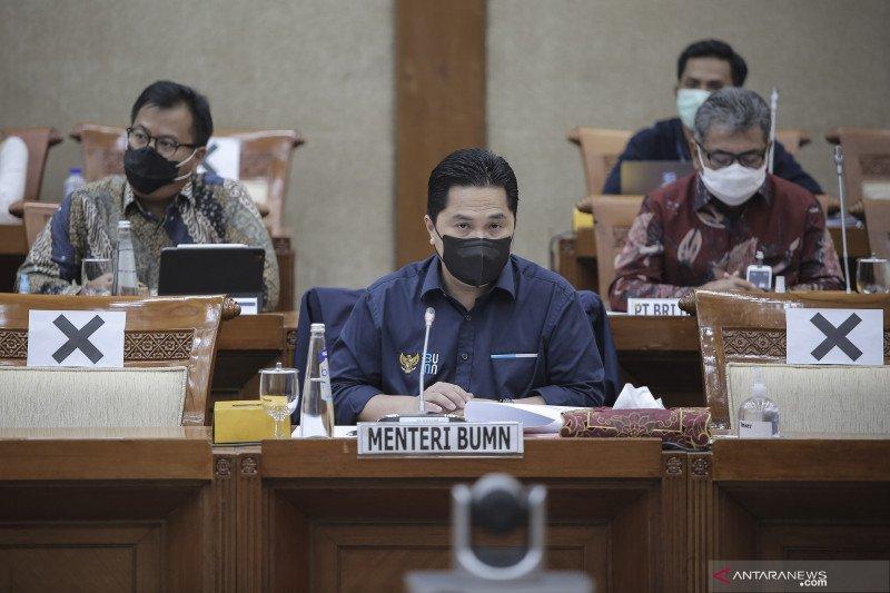 Raker Menteri BUMN dengan Komisi VI DPR