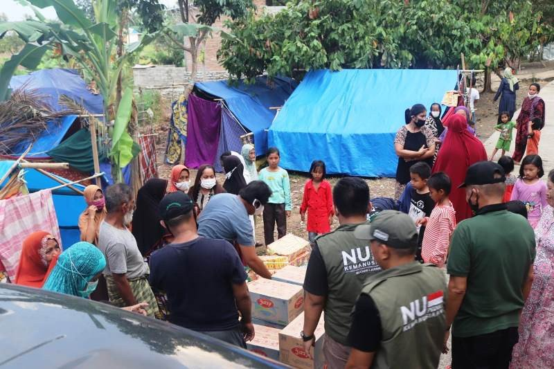 Tim NU Peduli bantu sumur bor dan MCK untuk korban gempa di Sulbar