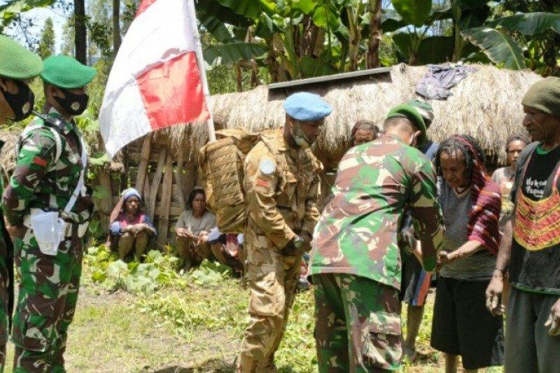 Pratu Andreas Kosi, pasukan perdamaian PBB asal Papua