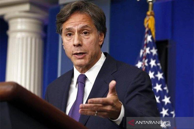 Blinken minta diplomat AS tantang negara penghambat beleid iklim