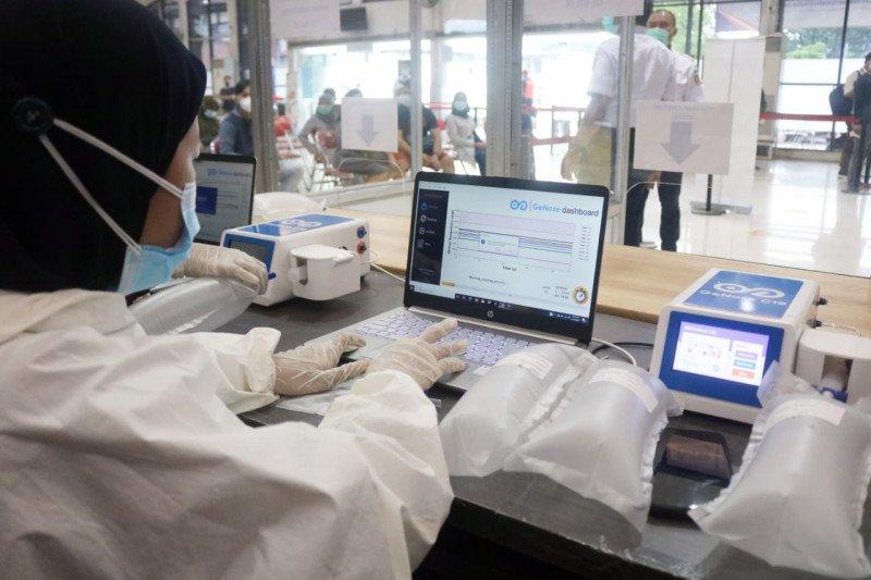 KAI Madiun mulai layanan tes GeNose 19 di Stasiun Jombang 20 Maret