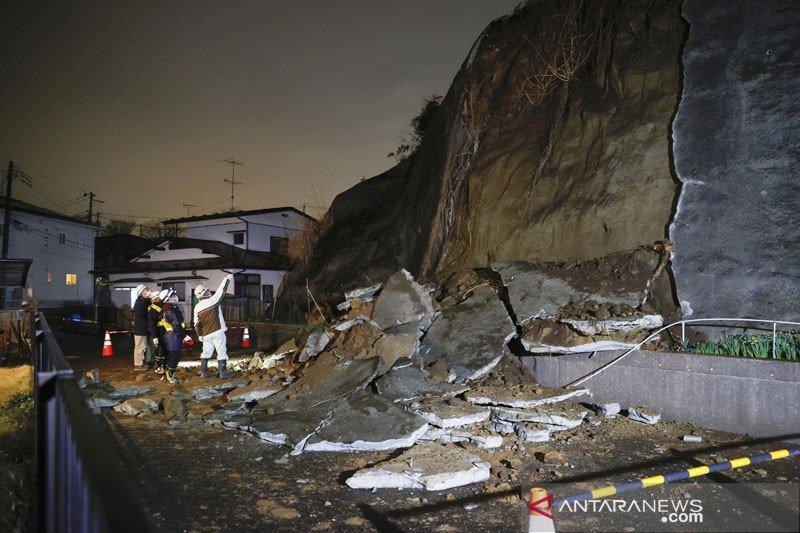 Gempa 7,2 magnitudo guncang Jepang, sebabkan tsunami 1 meter