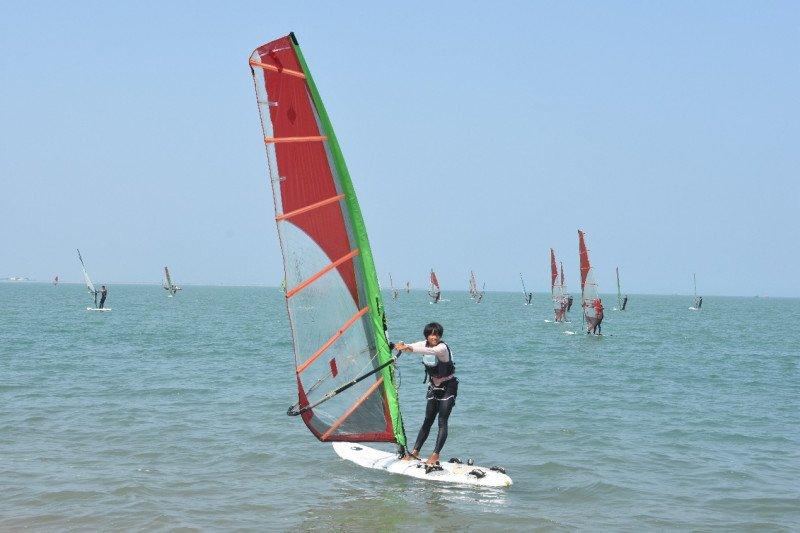 Haikou kumpulkan atlet layar dan selancar angin China