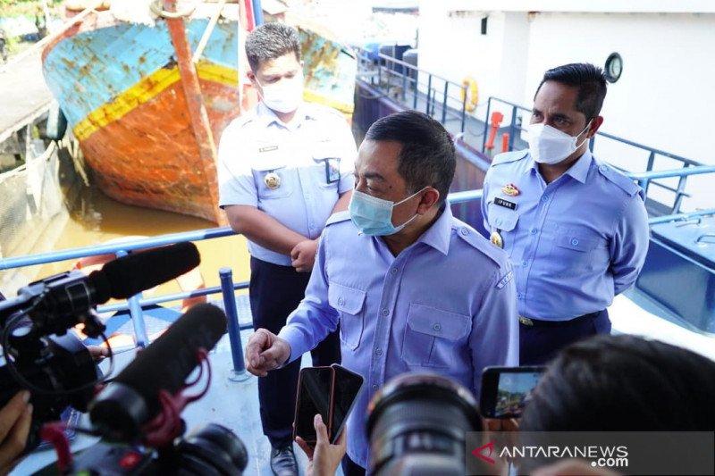 KKP tertibkan delapan kapal di Laut Natuna dan perairan Madura