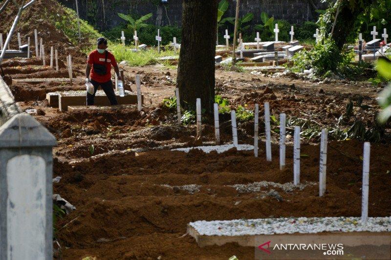 Izin ziarah di pemakaman khusus COVID-19