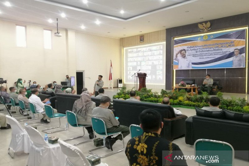 Mentan: Mahasiswa Polbangtan berperan dalam kemajuan sektor pertanian