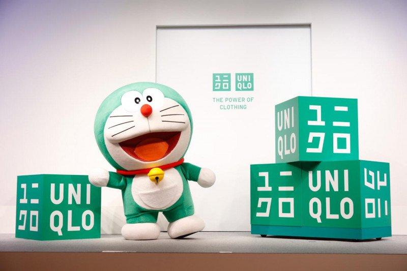Doraemon Hijau jadi duta keseimbangan ekologi Uniqlo