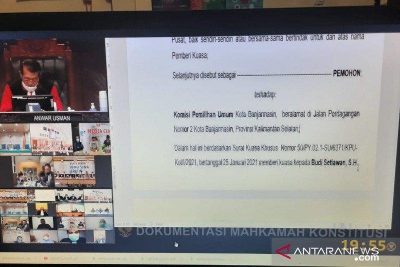 MK RI putuskan pemilihan suara ulang Pilkada Jambi di 88 TPS