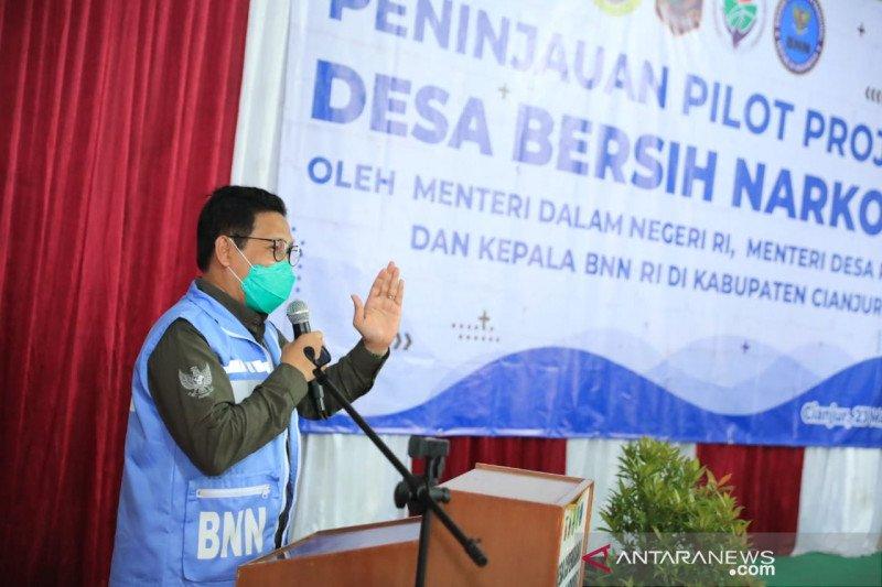 Gus Menteri sebut program desa bersih narkoba sesuai SDGs Desa