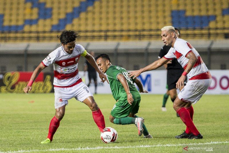 Piala Menpora: Madura United kalahkan PSS Sleman 2-1