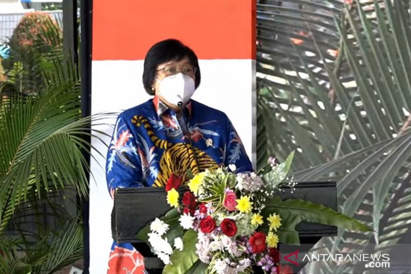 Menteri LHK tegaskan pentingnya menjaga sumber daya genetik Indonesia