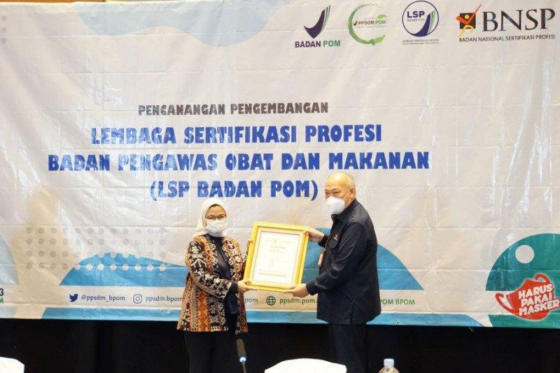 Badan POM gandeng BNSP kembangkan sertifikasi profesi