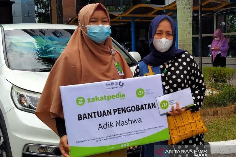 Inisiatif Zakat Indonesia bantu pengobatan balita meningitis di Riau
