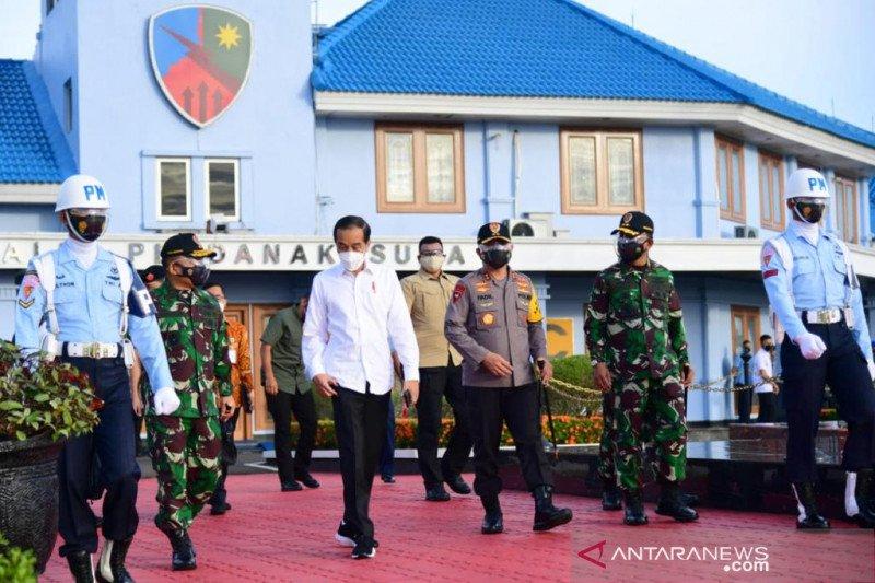 Presiden bertolak ke Malut resmikan bandara dan tinjau vaksinasi