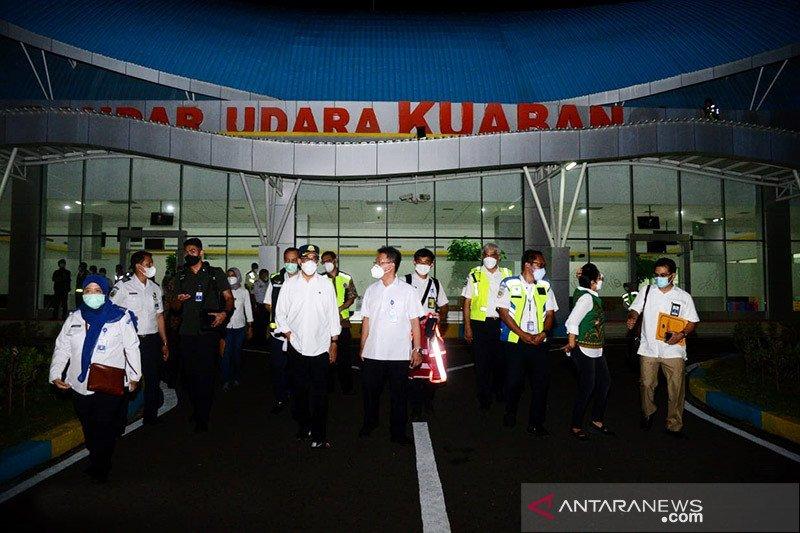 Menhub minta jalan ke Bandara Kuabang Halmahera Utara diperlebar