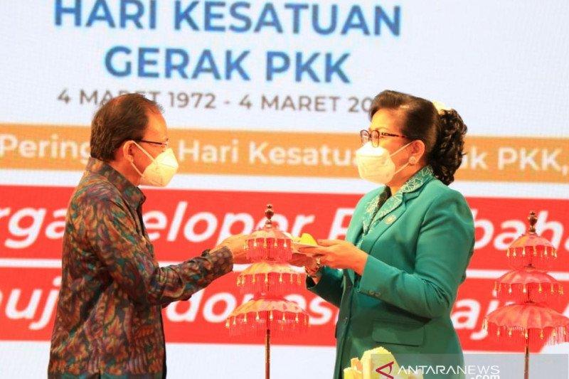 Gubernur Bali: PKK punya peran strategis sukseskan program pemerintah