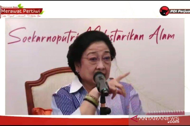 Megawati ajak politisi belajar kehidupan dari alam
